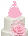 Princess Belle Cake Acrylic Topper